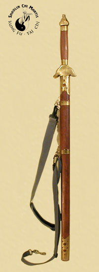 Rosewood Straight Sword